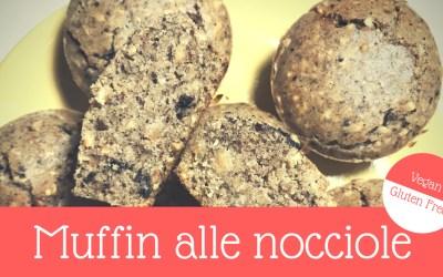 Muffin alle Nocciole Vegan e Gluten Free