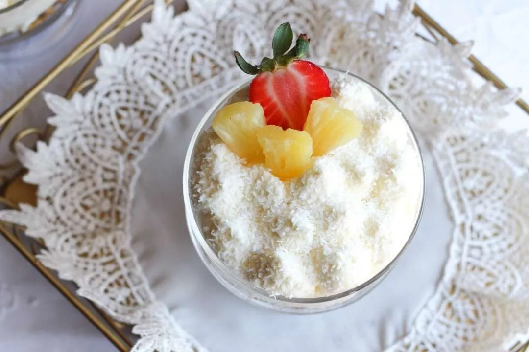 cheesecake trifle al limone
