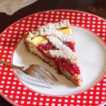 My second breakfastRicotta and Jam Tart! Use sour cherry jamhellip