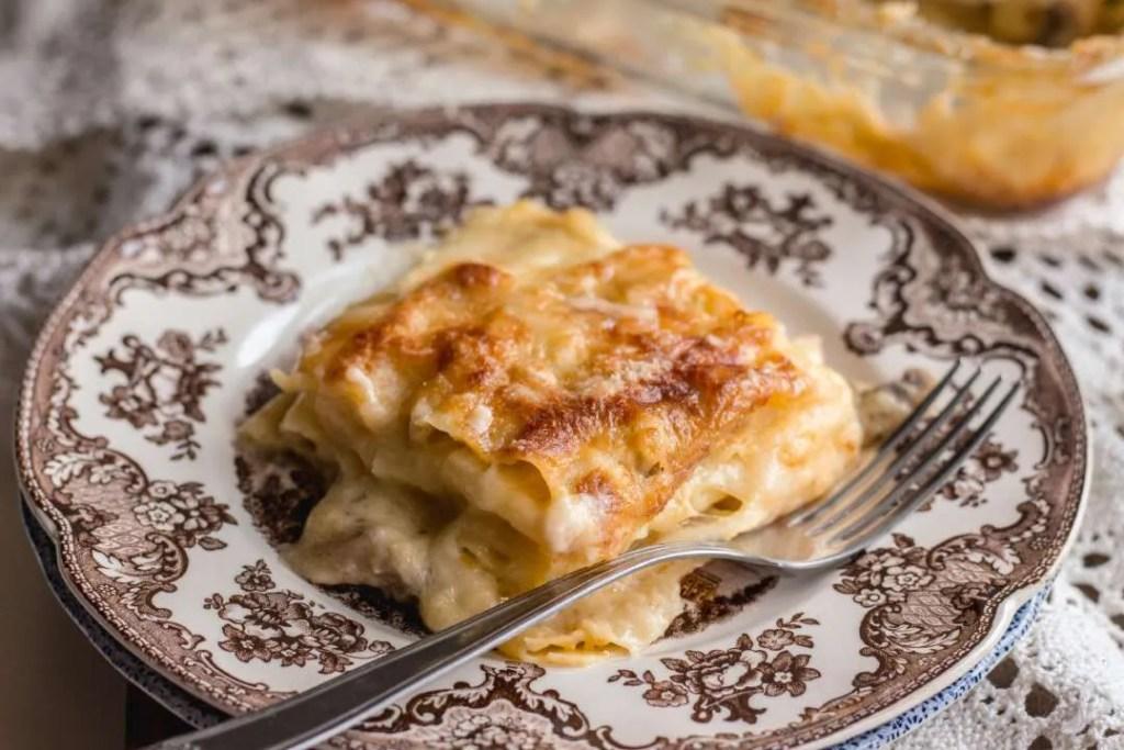 la ricetta delle lasagne con la zucca