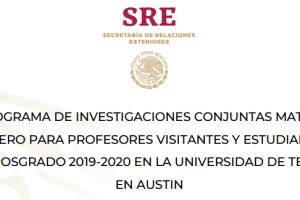 MatiasRomero-Programa-de-Investigaciones-Conjuntas-UNAMGlobal