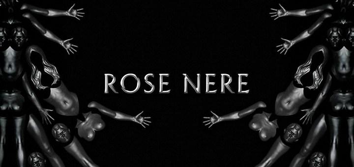 Copertina del singolo Rose Nere di Gué Pequeno