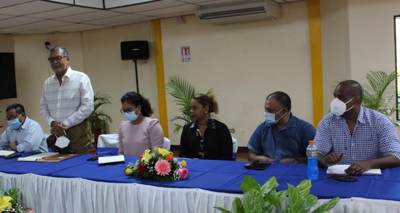Representantes de los Gobiernos Locales de la Costa Caribe.