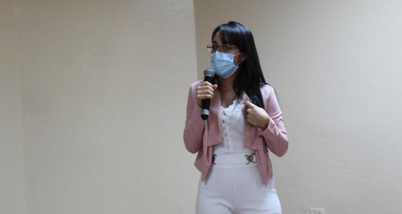 Geyssell Margarita Alemán Gutiérrez, doctora de la Clínica de Emergencia.