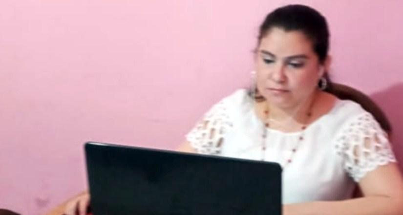 MSc. Violeta Gago, Coordinadora del Proyecto INICIA en la UNAN-Managua.