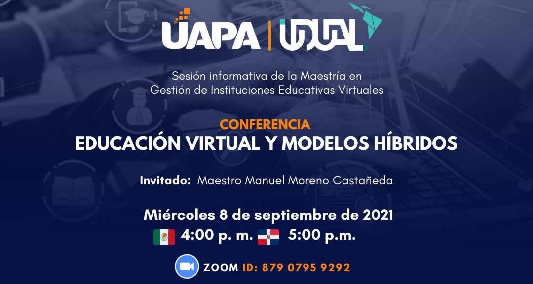 Sesión Informativa: Maestría en Gestión de Instituciones Educativas Virtuales