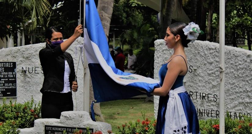 Tania Busto, máxima excelencia estudiantil de la UNAN-Managua