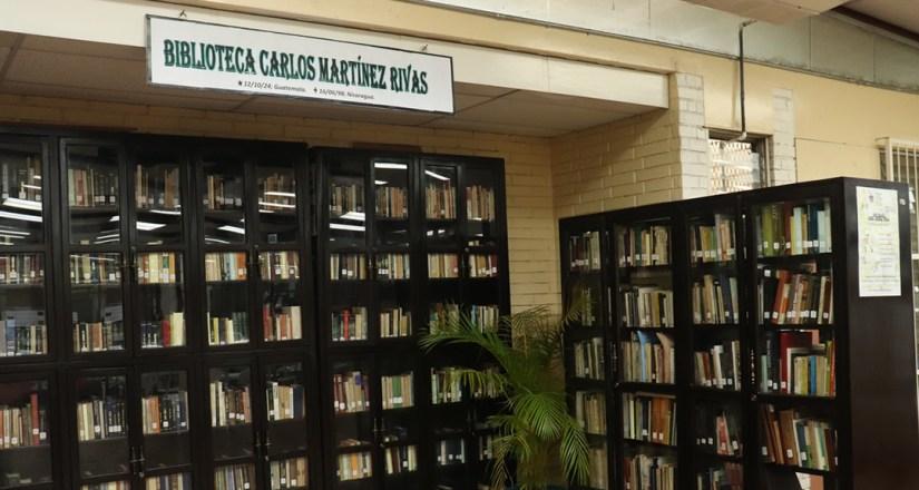 Biblioteca Personal de Carlos Martínez, ubicada en la Biblioteca Salomón de la Selva
