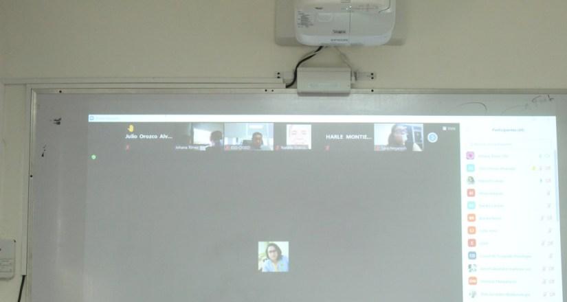 El conversatorio se realizó por vía virtual