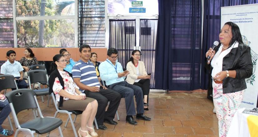 Sistema Bibliotecario de la UNAN-Managua fomenta la lectura en la comunidad universitaria