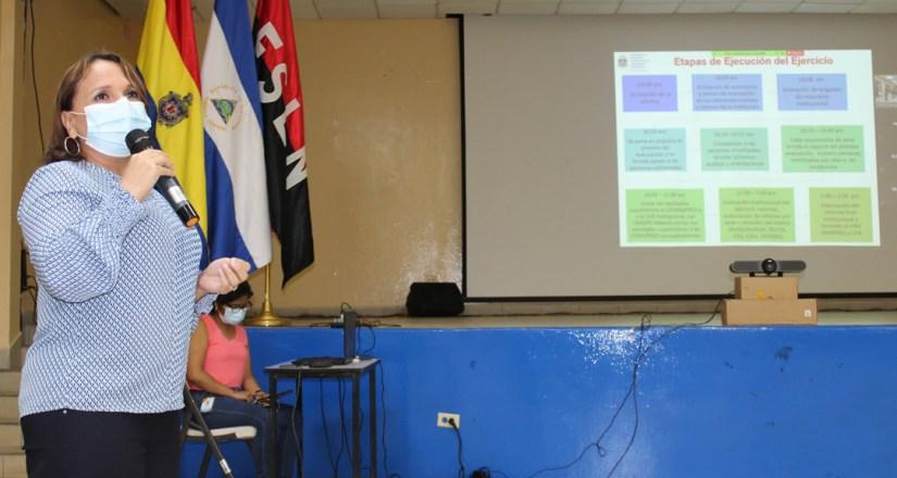 Miembros del CIGIR se preparan para la realización del segundo Simulacro Nacional Multiamenazas