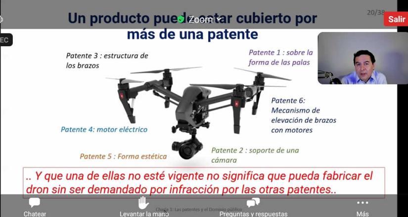 Personal de la Red CATI CARD se capacita en temas de patentes de dominio público