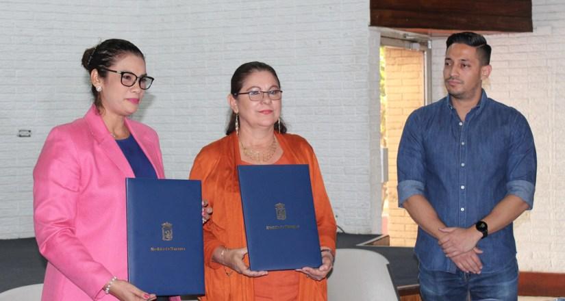 La UNAN-Managua y ALMA firmaron un convenio marco de cooperación y un convenio específico