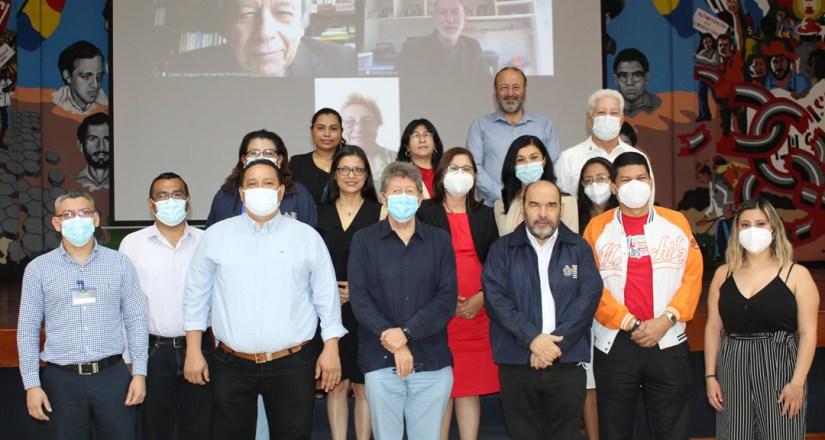 CEAI finaliza proceso de evaluación internacional de la UNAN-Managua