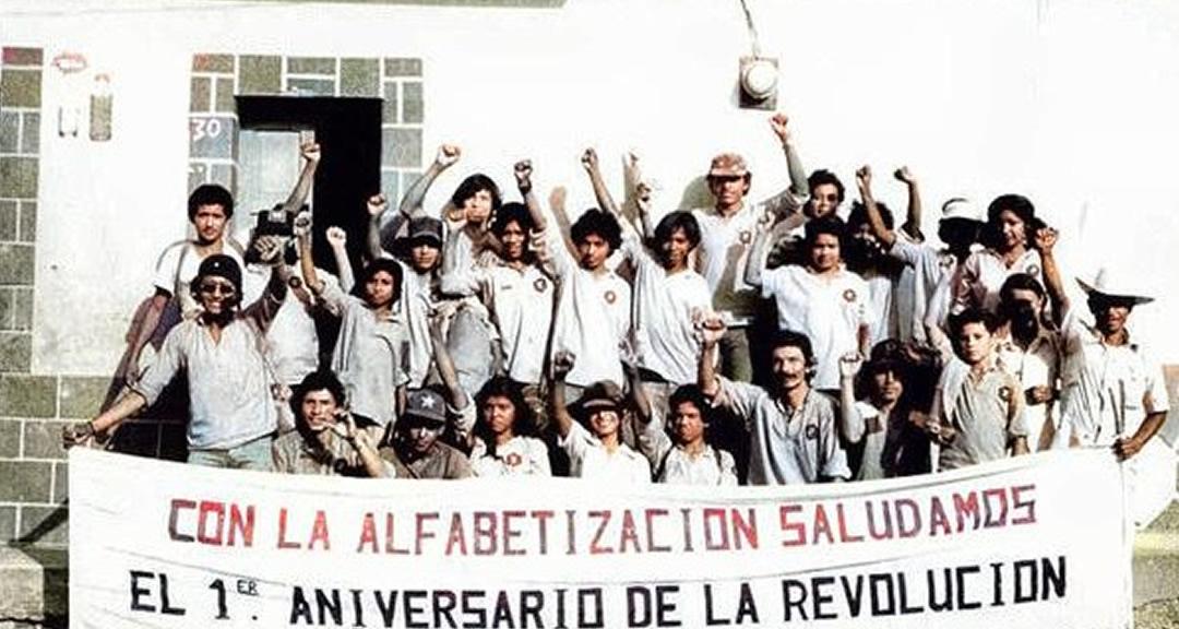 Memorias de la Cruzada Nacional de Alfabetización, a 41 años de la revolución cultural