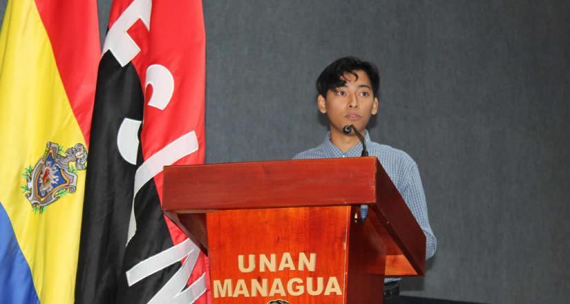 Palabras del mejor estudiante del Curso de Especialización del Proyecto INICIA.