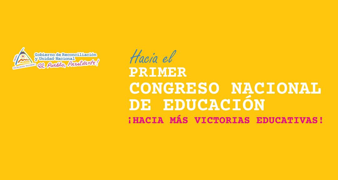 Primer Congreso Nacional de Educación