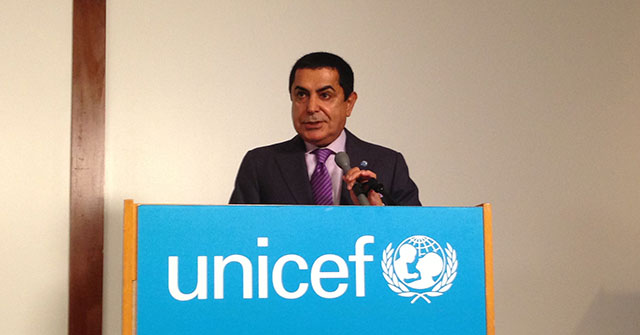 HR Al Nasser at the Launch of the Early Childhood Peace Consortium
