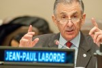 Jean-Paul Laborde (Executive Director of the Counter-Terrorism Executive Directorate, CTED) at the UNAOC #SpreadNoHate Symposium (United Nations, Dec. 2015)