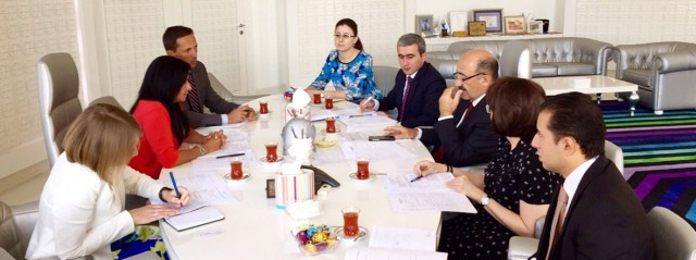UNAOC Delegation Meets with Azerbaijani Officials in Baku in Preparation for 2016 Global Forum