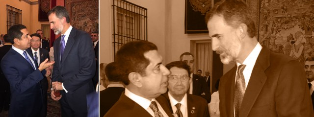 Press Statement on the meeting with His Majesty King Felipe VI of Spain
