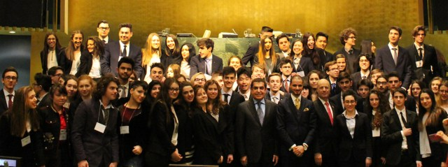 "Al-Nasser Remarks at the Italian Diplomatic Academy's ""UN: A Message to Young Leaders"""