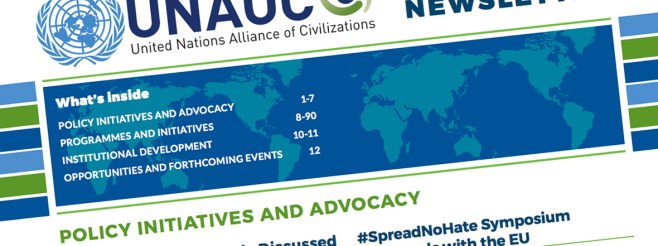 UNAOC Releases Latest Newsletter