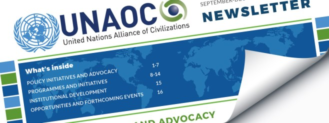 UNAOC Publishes the 10th Edition of its Newsletter