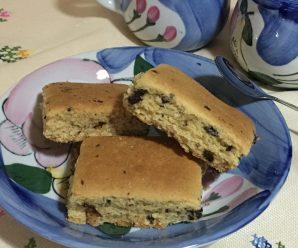TORTA BISCOTTO – TORTA COOKIES CON FARINA DI RISO (senza glutine)