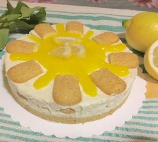 Cheesecake al Limone Senza Colla di Pesce 11