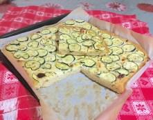 Focaccia con Zucchine o Patate 3
