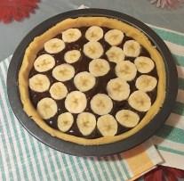 Crostata Banana e Cioccolato 1