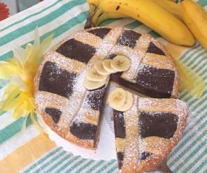 CROSTATA BANANACIOCK (Crostata Banana e Cioccolato)