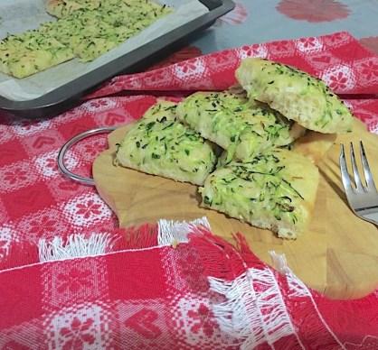 Focaccia con Zucchine o Patate 7