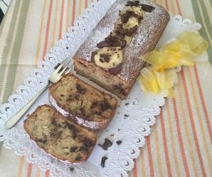 BANANA BREAD – PLUMCAKE ALLA BANANA (senza Latte e Burro)