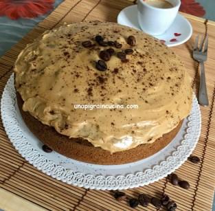 Torta Sofficissima al Caffè (senza bilancia) 2