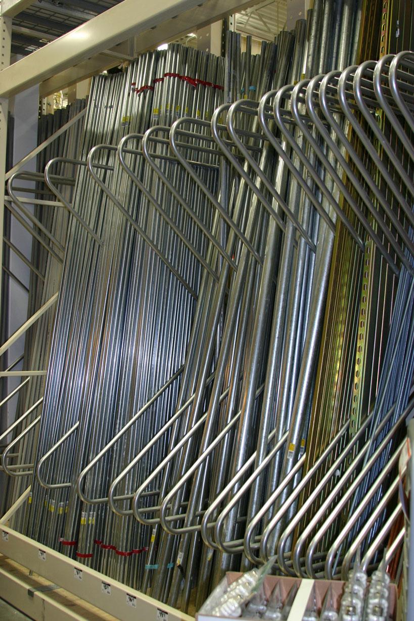 retail rack storage ideas