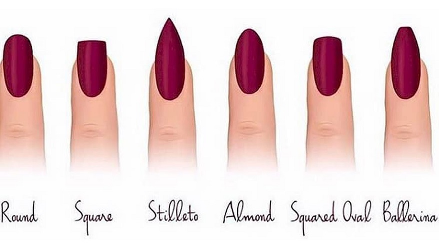 Different Types Of Nail Shapes Una Tal Luisa