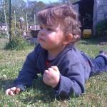Aydan dans la nature