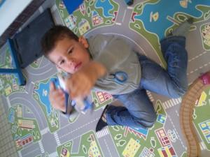Aydan à l'école ABA - Pairing semaine 1