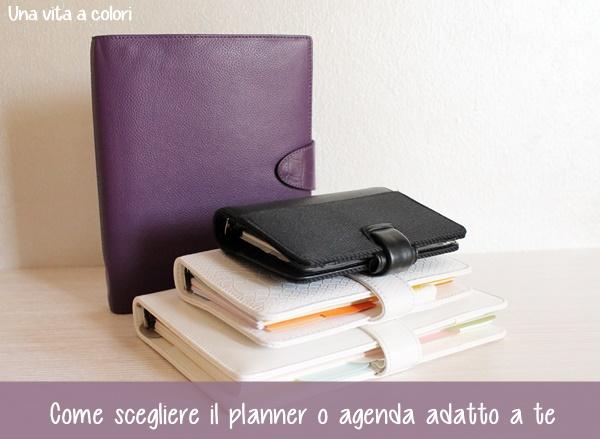 come scegliere il planner o agenda adatto