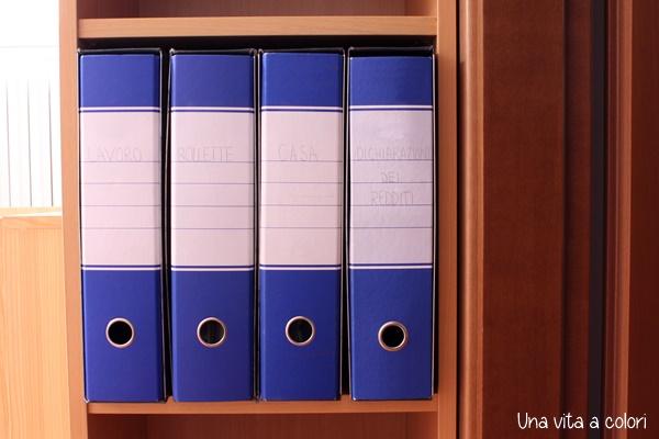 Conservare ed archiviare i documenti di casa