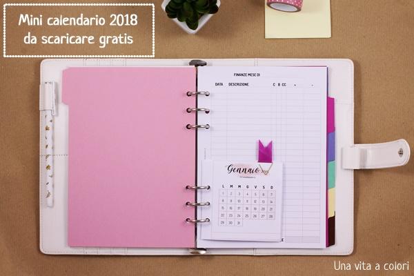calendario no spend 2018