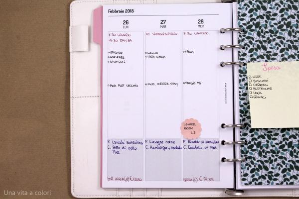 pianificazione funzionale con agenda