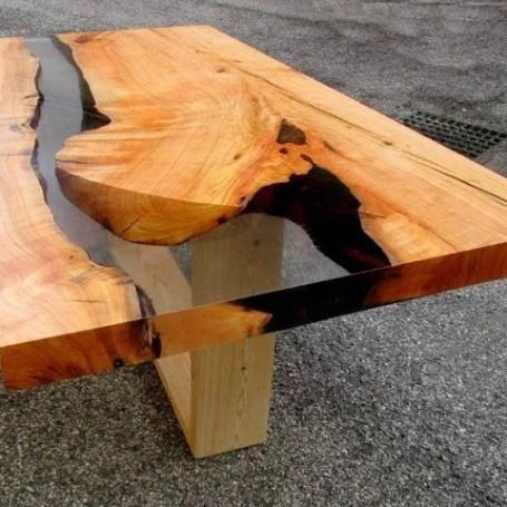 Come costruire tavoli e tavolini in legno con resina epossidica ...