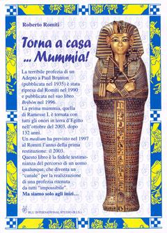 Torna a casa… mummia! - Roberto Romiti (approfondimento)