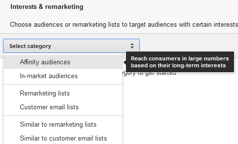 interests-inmarket-remarketing-adwords