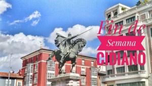 Fin de Semana Cidiano en Burgos: programa y actividades