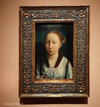 Retrato de la infanta Catalina en el Thyssen