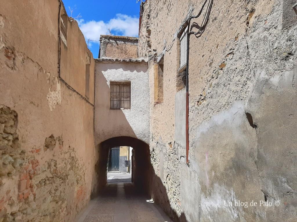 Calle de la Judería antigua de Alba